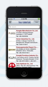 thai furniture ipad